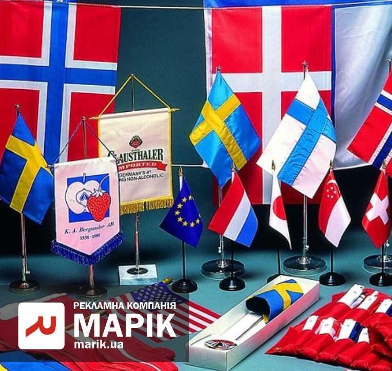 marik pechat na flagah - Прапори