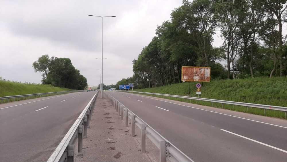 Білборд, щити на карті в Хмельницькому, Виїзд в напрямку Тернополя, Хмельницький