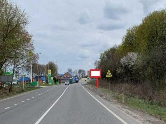 Білборд, щити на карті в Хмельницькому, Кільце виїзду на Тернополь, Хмельницький