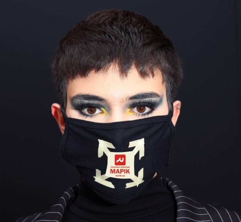 marik maska3 768x708 - Нанесення логотипів на маски