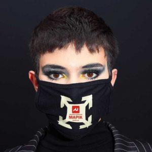 Нанесення логотипів на маски.