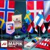 Марік печать на флагах