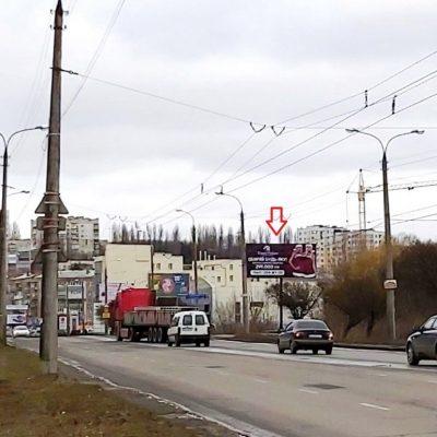Білборд, щити на карті в Хмельницькому, Вулиця Свободи (Палац творчості), Хмельницький