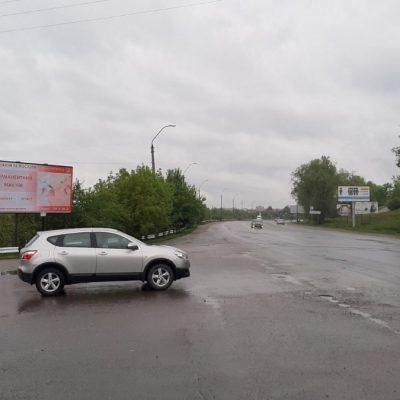 Білборд, щити на карті в Хмельницькому, вулиця Кам'янецька, Ружична, Хмельницький
