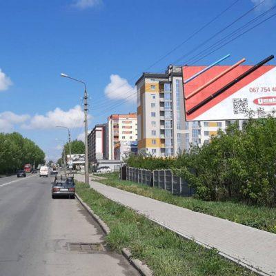Білборд, щити на карті в Хмельницькому, Вулиця Вінницьке шосе, Spar, Хмельницький