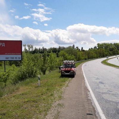 Білборд, щити на карті в Хмельницькому, В'їзд із Староконстянтинова, Хмельницький